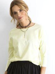 Jasnożółta bluzka April