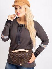 Khaki bluza plus size Save