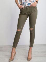 Khaki jeansy Imperial