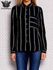Koszula w paski czarna
