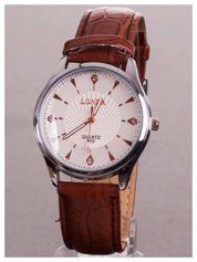 LONDA Męski zegarek z cyrkoniami. Niby klasyczny, za to te cyrkonie... urok w czystej postaci