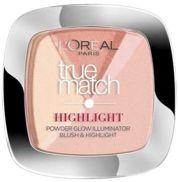 L'Oreal True Match Highlight pudrowy rozświetlacz do twarzy 202.N Rosy Glow 9 g