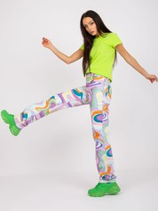 Limonkowy t-shirt Peachy