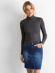 Niebieska jeansowa spódnica damska