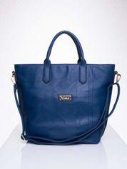 Niebieska torba damska do ręki