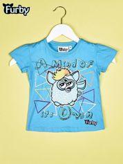 Niebieski chłopięcy t-shirt FURBY