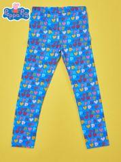 Niebieskie legginsy dla dziewczynki ŚWINKA PEPPA