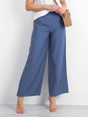 Niebieskie spodnie Leisurely