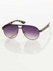 Okulary przeciwsłoneczne unisex pantera