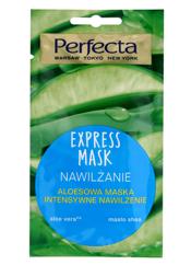 Perfecta Express Mask Aloesowa Maska intensywne nawilżanie 8 ml