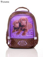 Plecak szkolny z pieskami