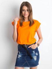 Pomarańczowy t-shirt Revolution