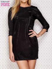 Pudełkowa sukienka czarna