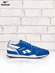 REEBOK niebieskie buty zamszowe GL 3000