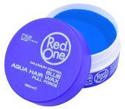 RedOne AQUA HAIR GEL WAX FULL FORCE BLUE Wodny żelowy wosk do włosów ZAPACH GUMY BALONOWEJ 150 ML