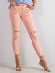 Różowe jeansy Imperial