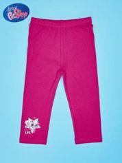 Różowe legginsy dla dziewczynki LITTLEST PET SHOP