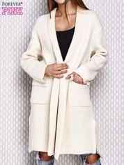 Sweter oversize ecru