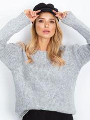 Szary sweter Tiffany