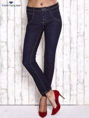TOM TAILOR Granatowe spodnie regular jeans