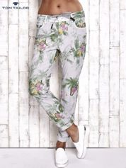 TOM TAILOR Spodnie damskie floral print