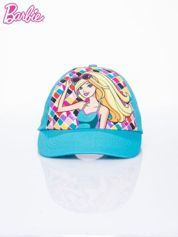 Butik Turkusowa czapka z daszkiem dla dziewczynki BARBIE