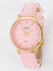 Zegarek damski jasnoróżowy
