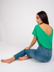 Zielony t-shirt Fire