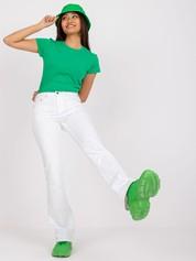 Zielony t-shirt damski