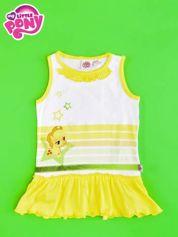Żółta tunika dla dziewczynki MY LITTLE PONY