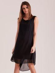 Zwiewna sukienka czarna