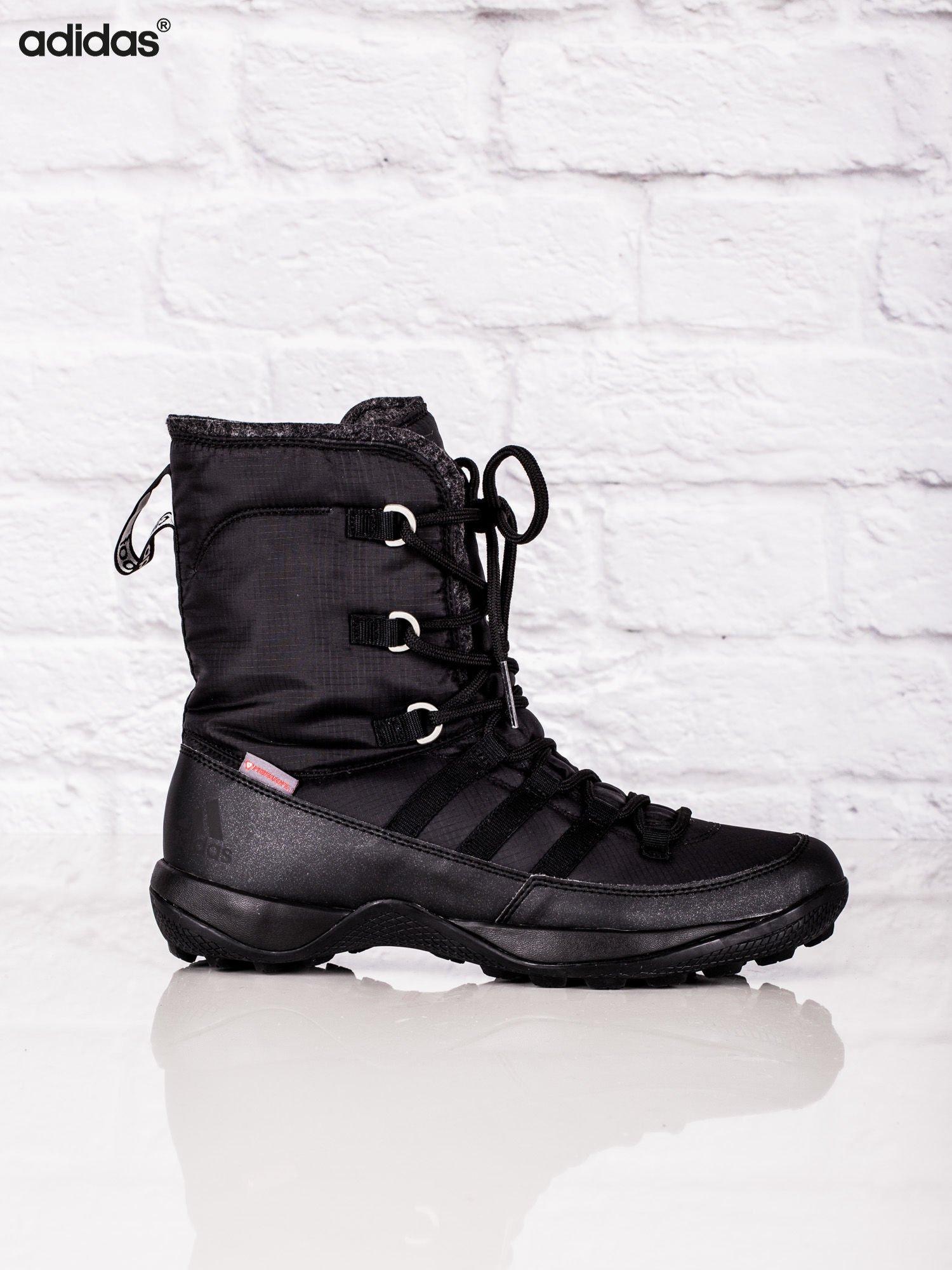 buty adidas czarne zimowe damskie