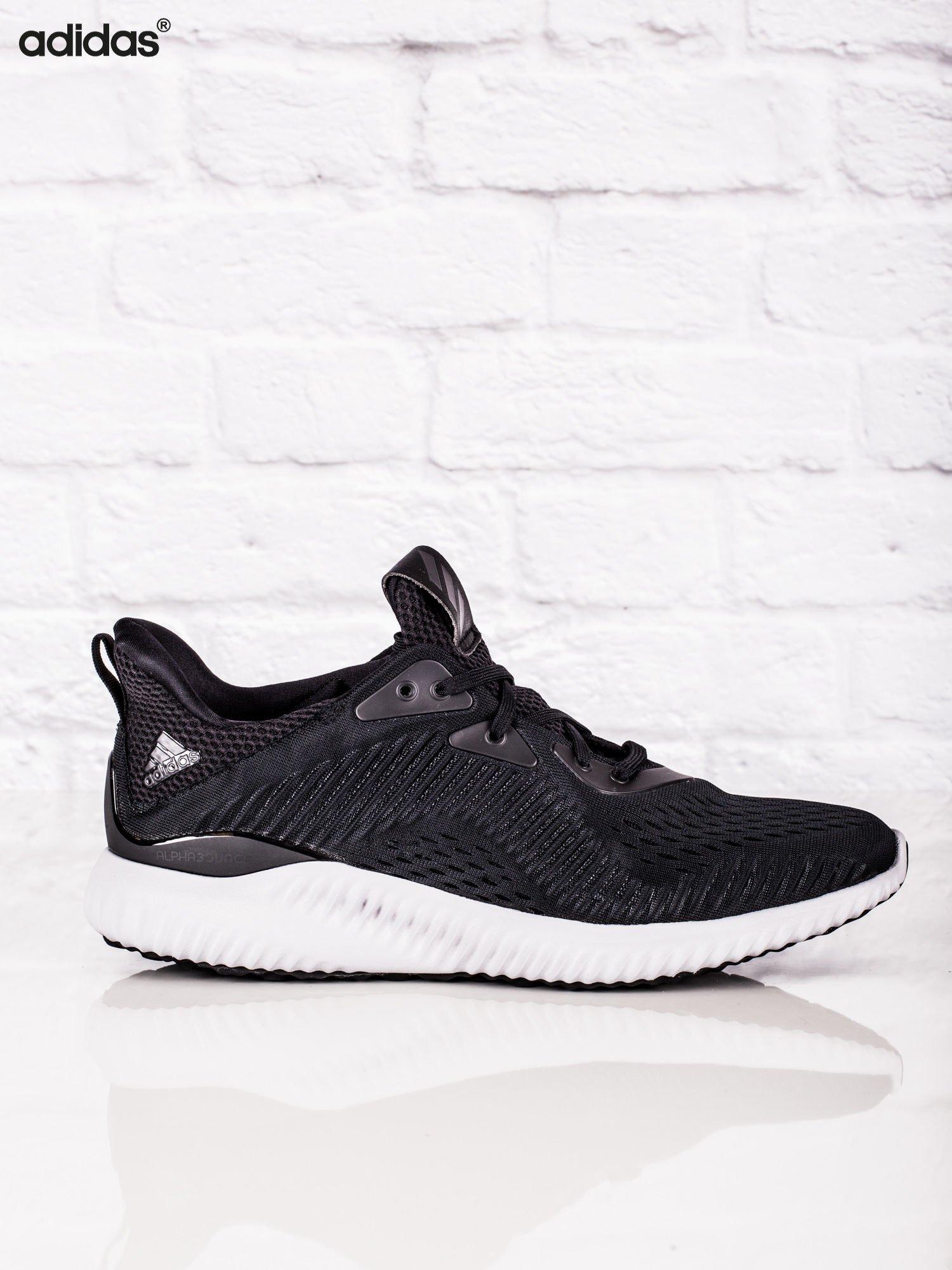 f60fc1c5a1fe9 ADIDAS Czarne męskie buty sportowe alphabounce EM - Mężczyźni Buty ...