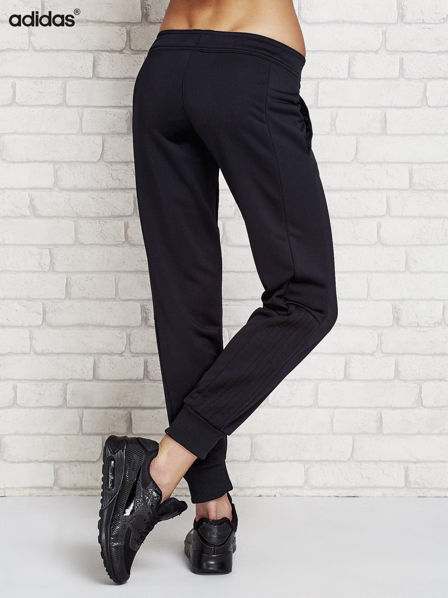 1778e8e40 ADIDAS Czarne spodnie dresowe dla dziewczynki - Dziecko Dziewczynka ...
