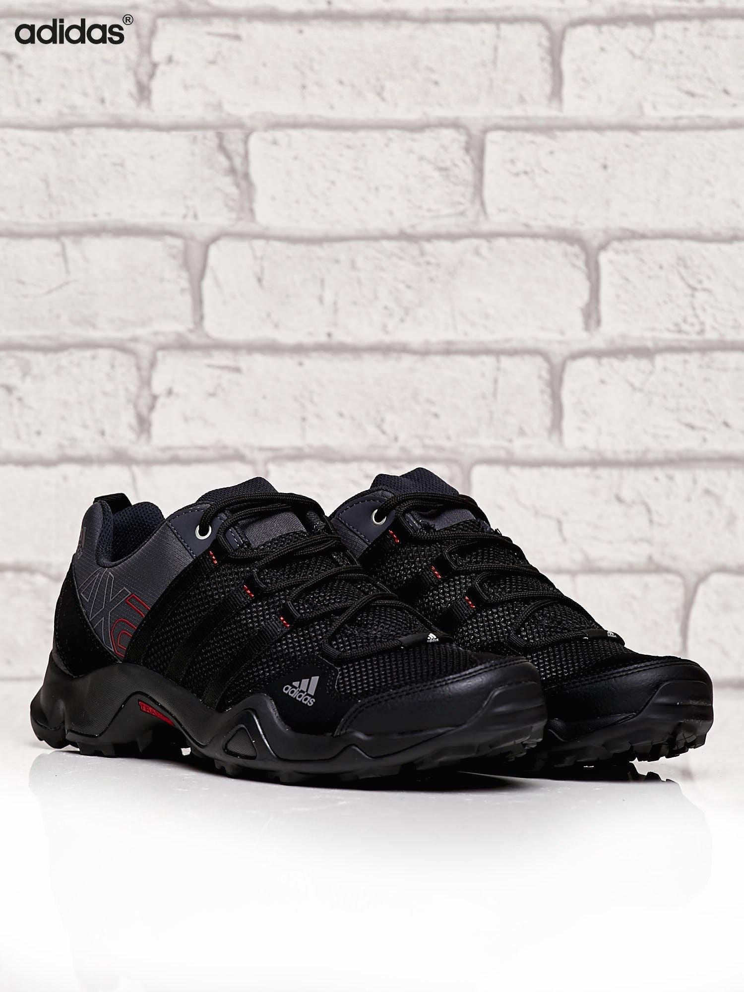 Sportowe Męskie Buty Mężczyźni Czarne Ax Do 2 Biegów Adidas