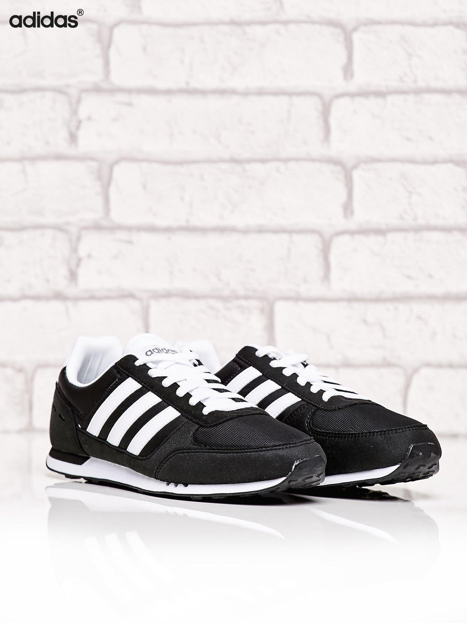 b6a78f2c88d46 1  ADIDAS czarne buty męskie Neo City Racer o aerodynamicznym kształcie ...