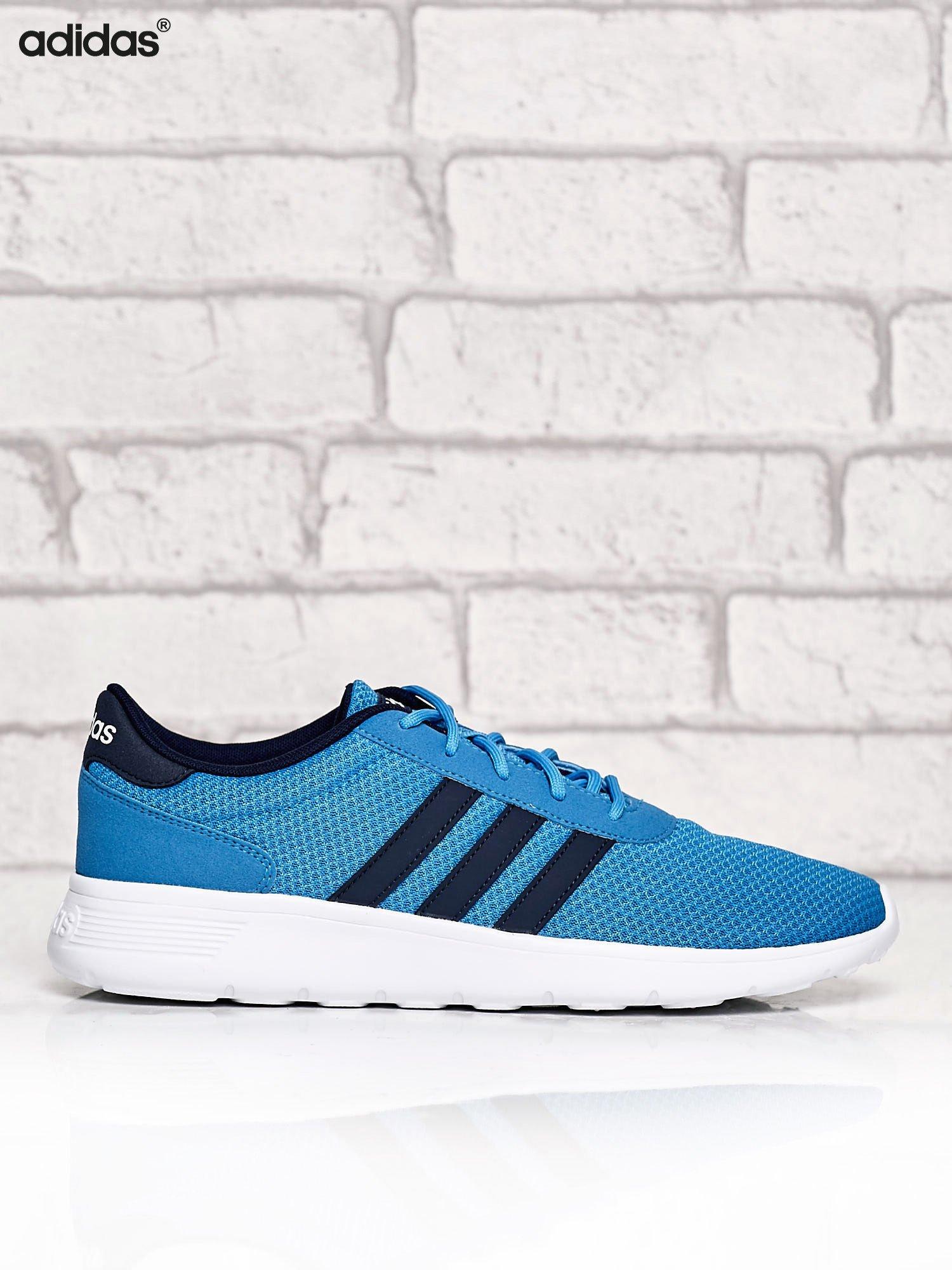 Buty męskie adidas lite racer aw5050 niebieskie Zdjęcie na