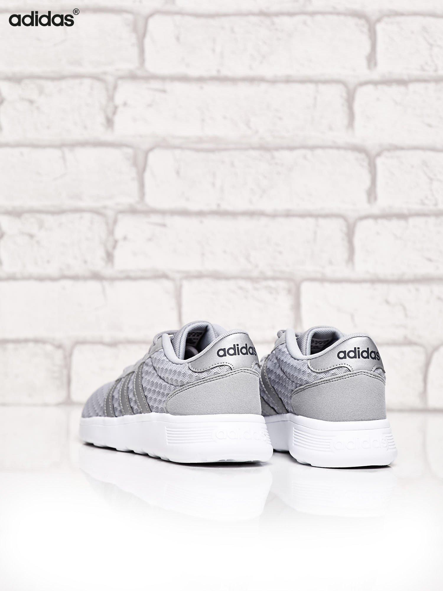 ADIDAS srebrne buty sportowe LITE RACER W ze wzorem                                  zdj.                                  4