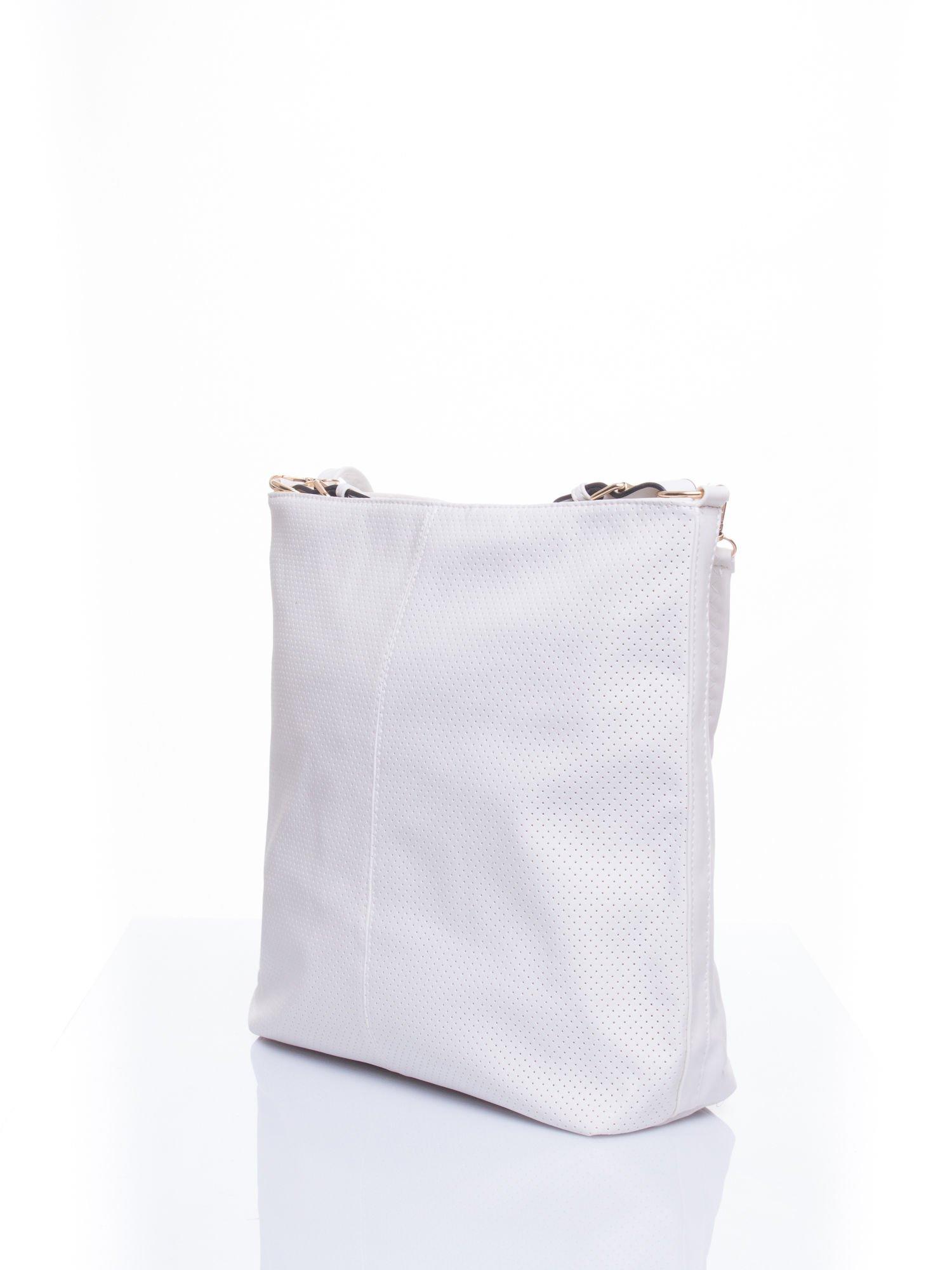 Biała torba damska hobo                                  zdj.                                  4