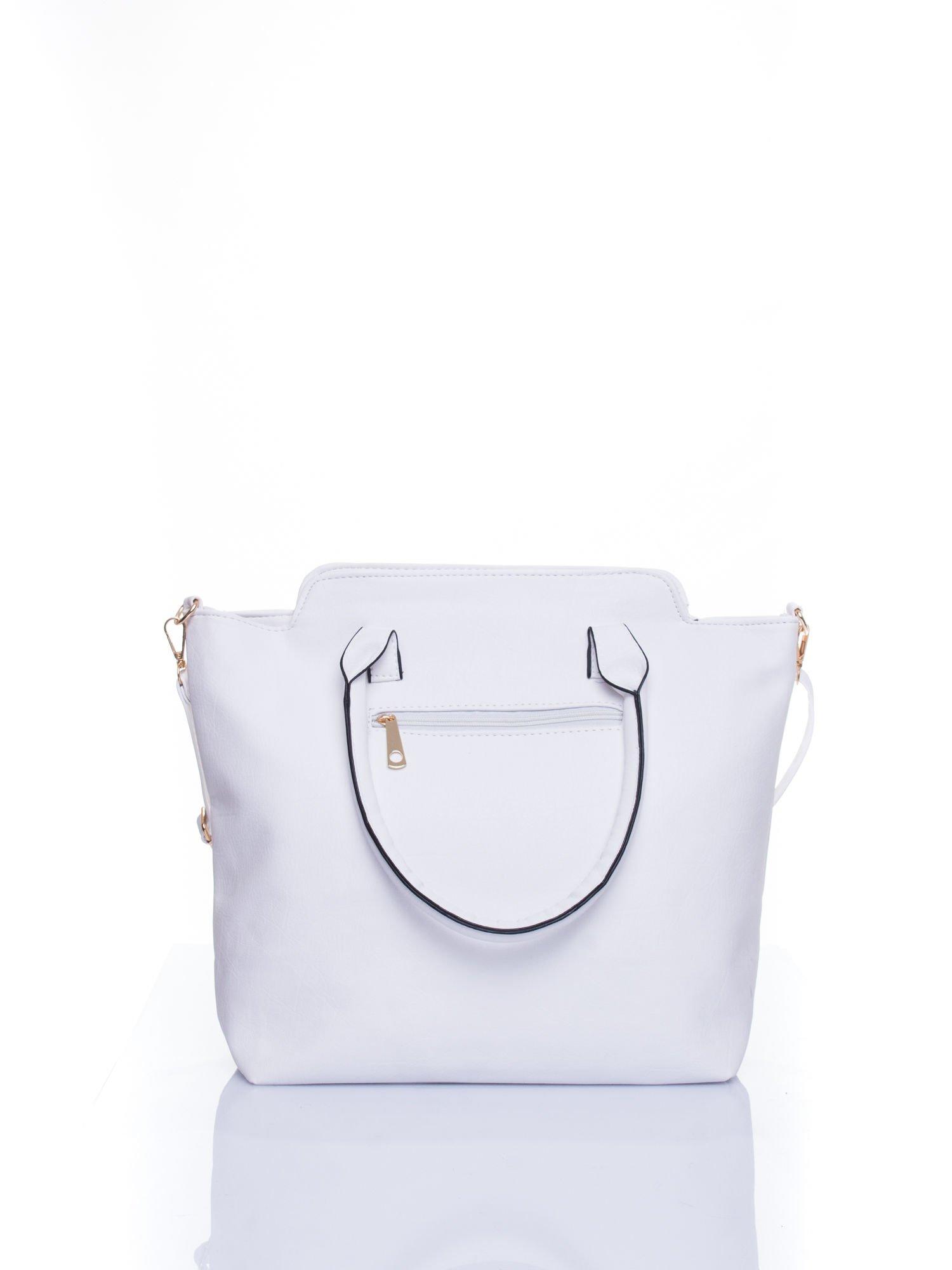 Biała torba shopper bag                                  zdj.                                  3