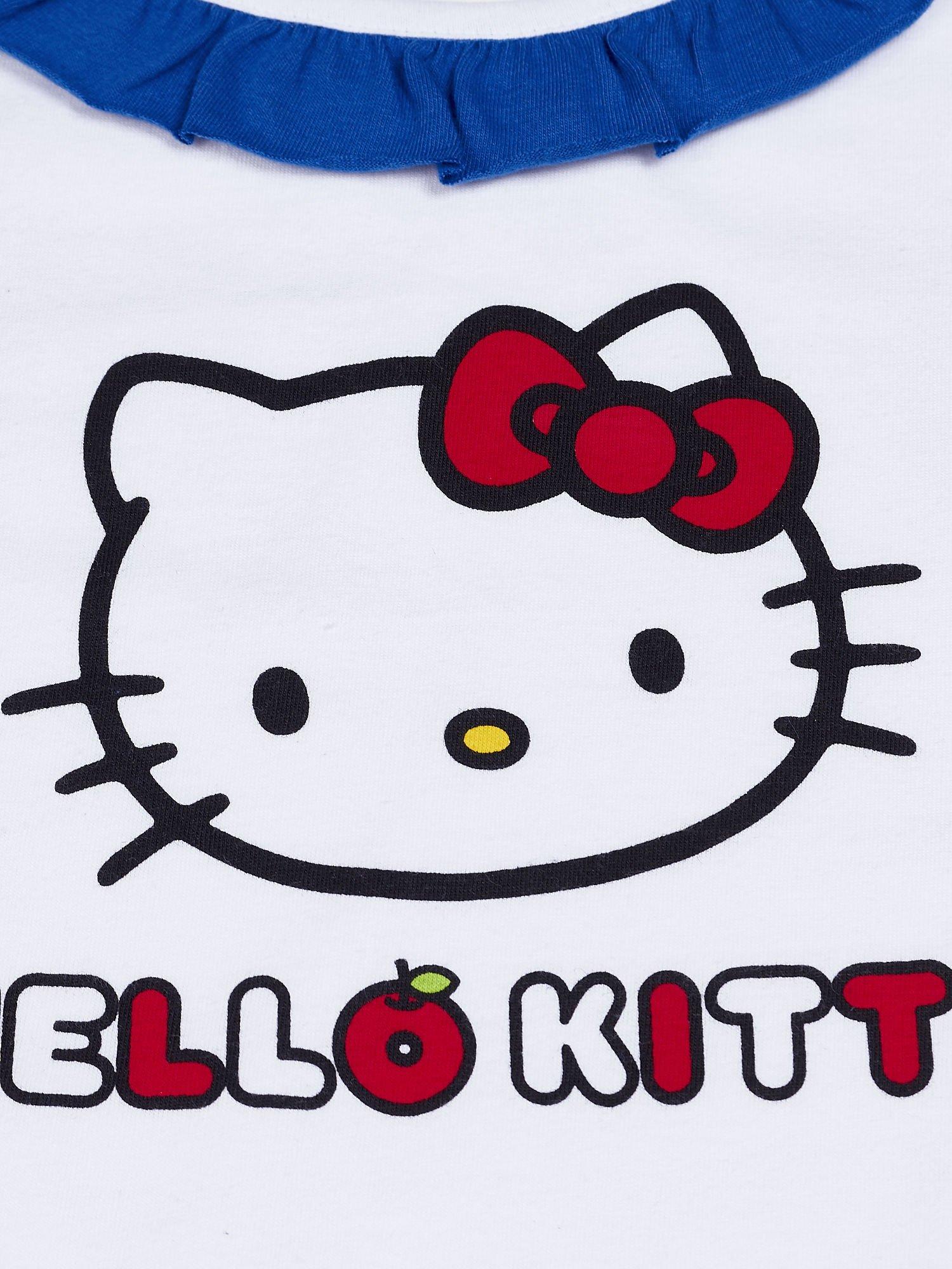 Biała tunika dla dziewczynki HELLO KITTY                                  zdj.                                  4