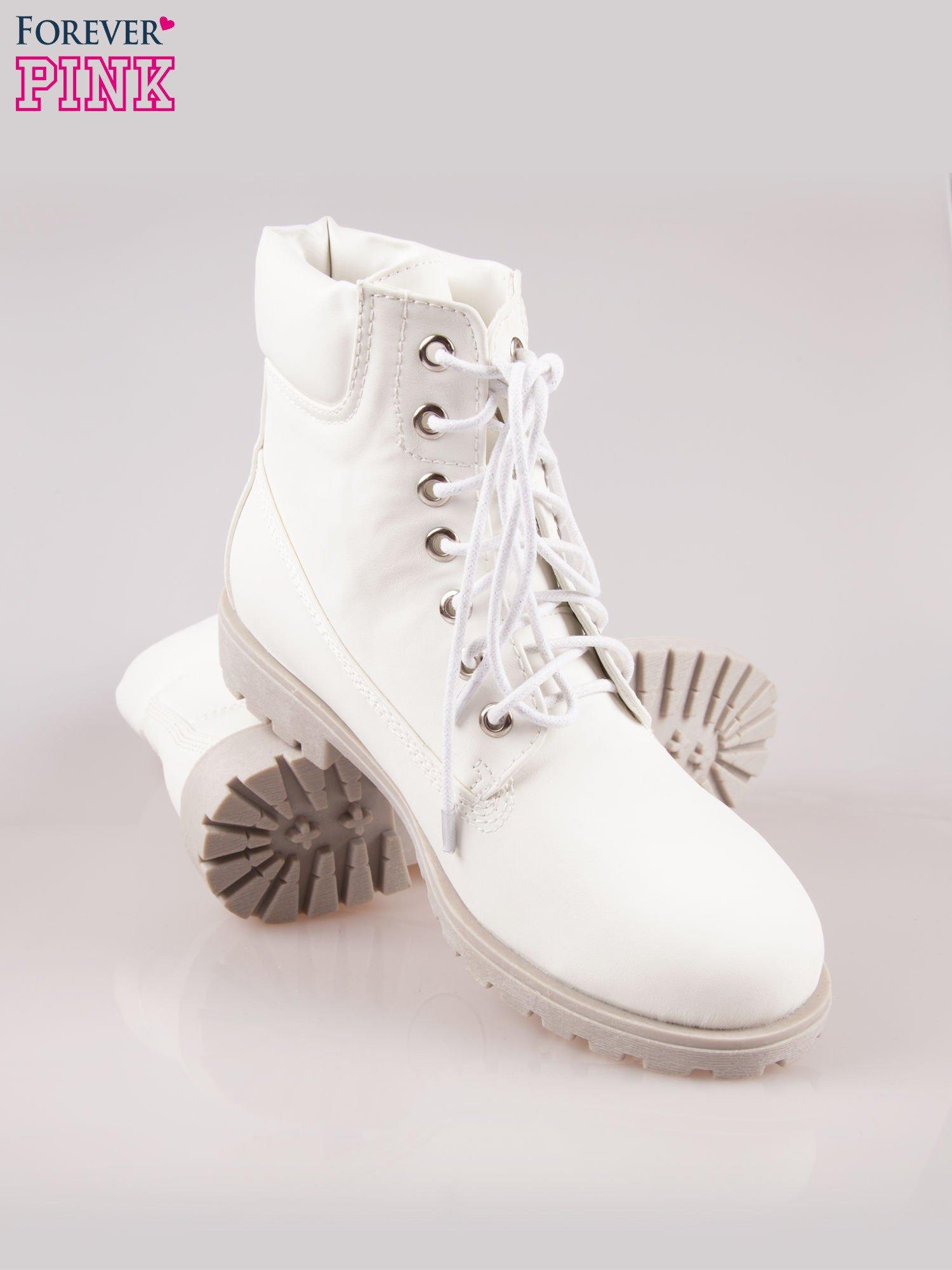 Białe buty trekkingowe damskie                                  zdj.                                  4