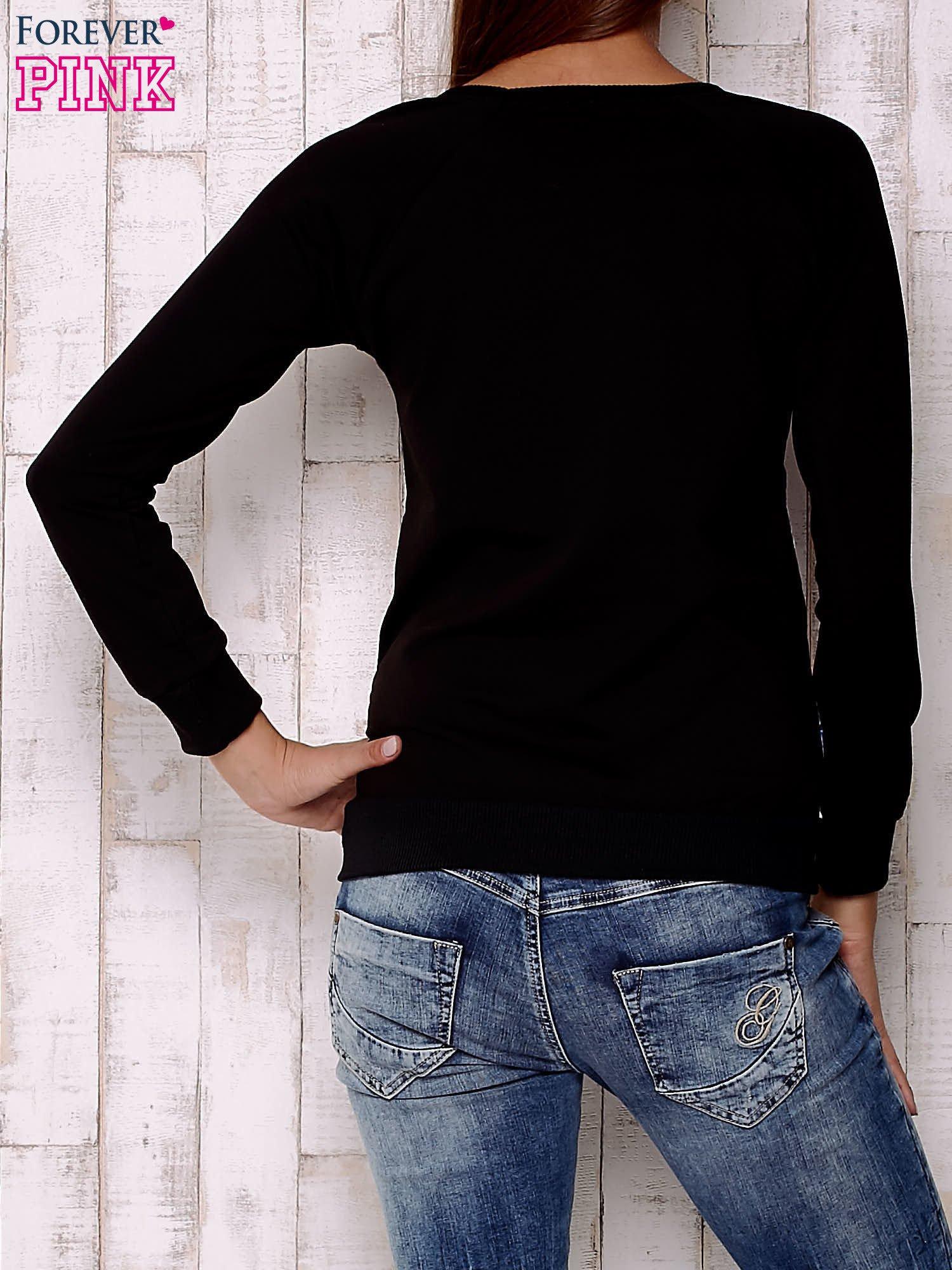 Biało-czarna bluza z sowami                                  zdj.                                  4
