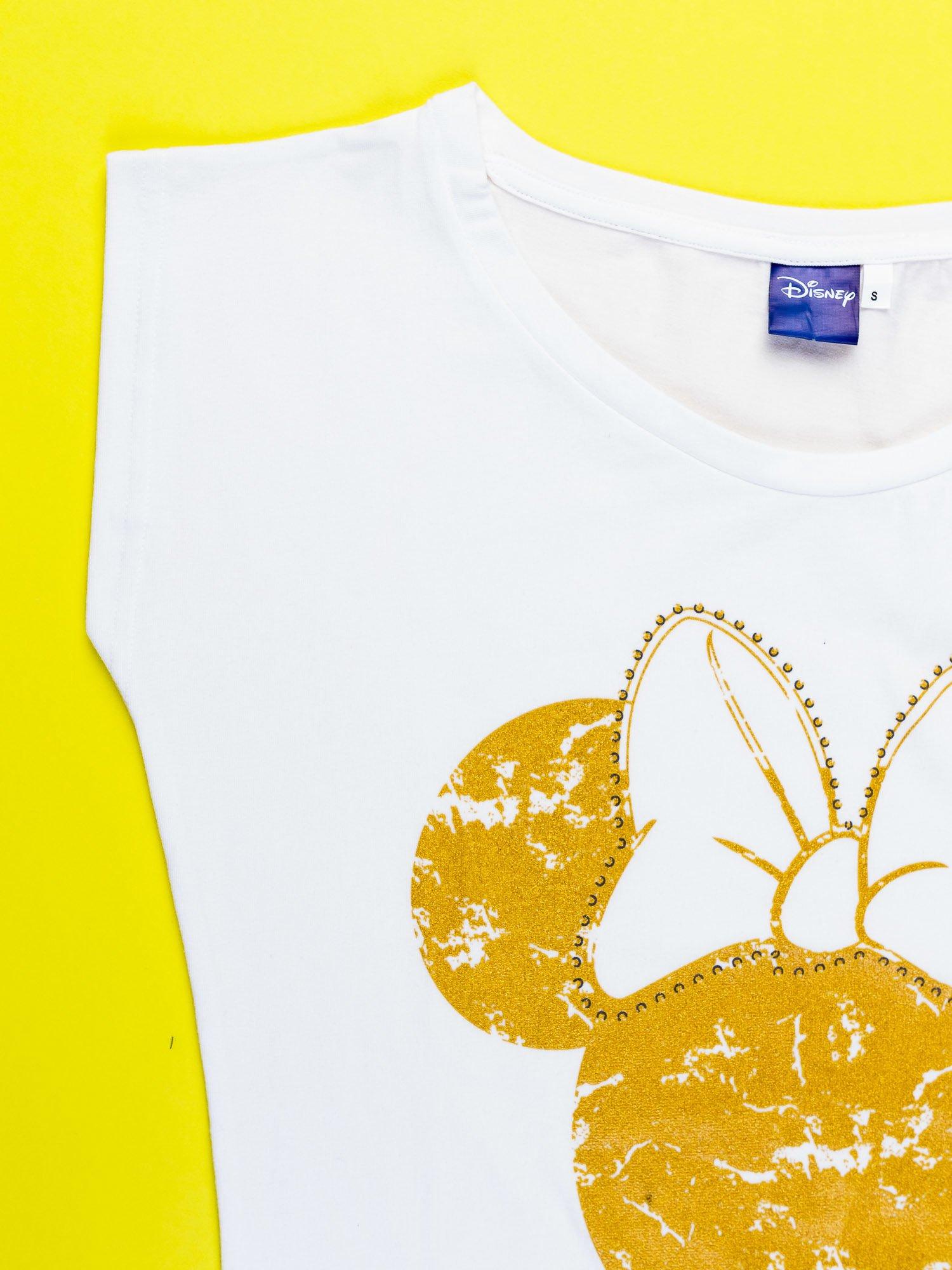Biały t-shirt MINNIE MOUSE                                  zdj.                                  11