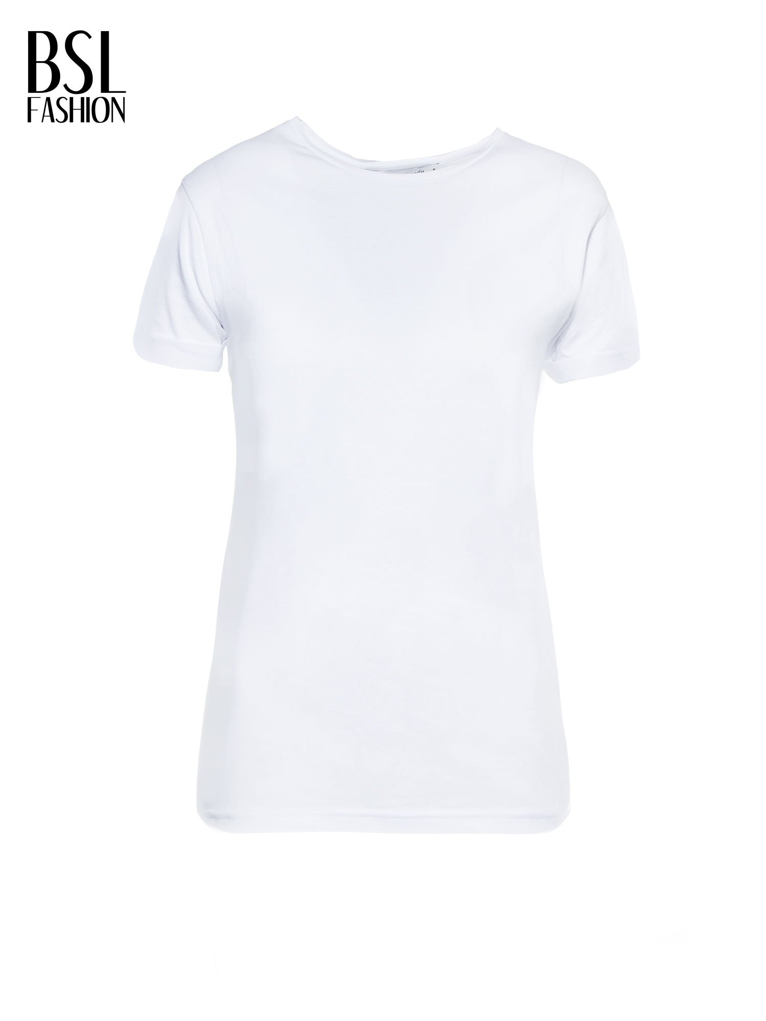 Biały t-shirt z nadrukiem numerycznym KAWAKUBO 42 z tyłu                                   zdj.                                  2