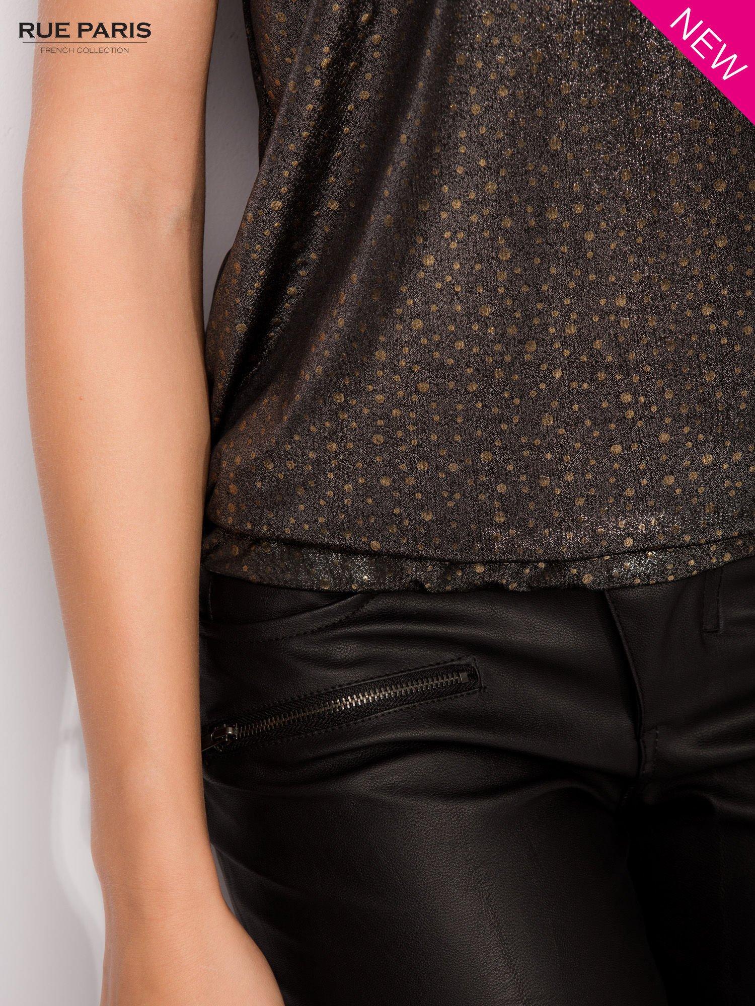 Błyszcząca bluzka w stylu disco                                  zdj.                                  7
