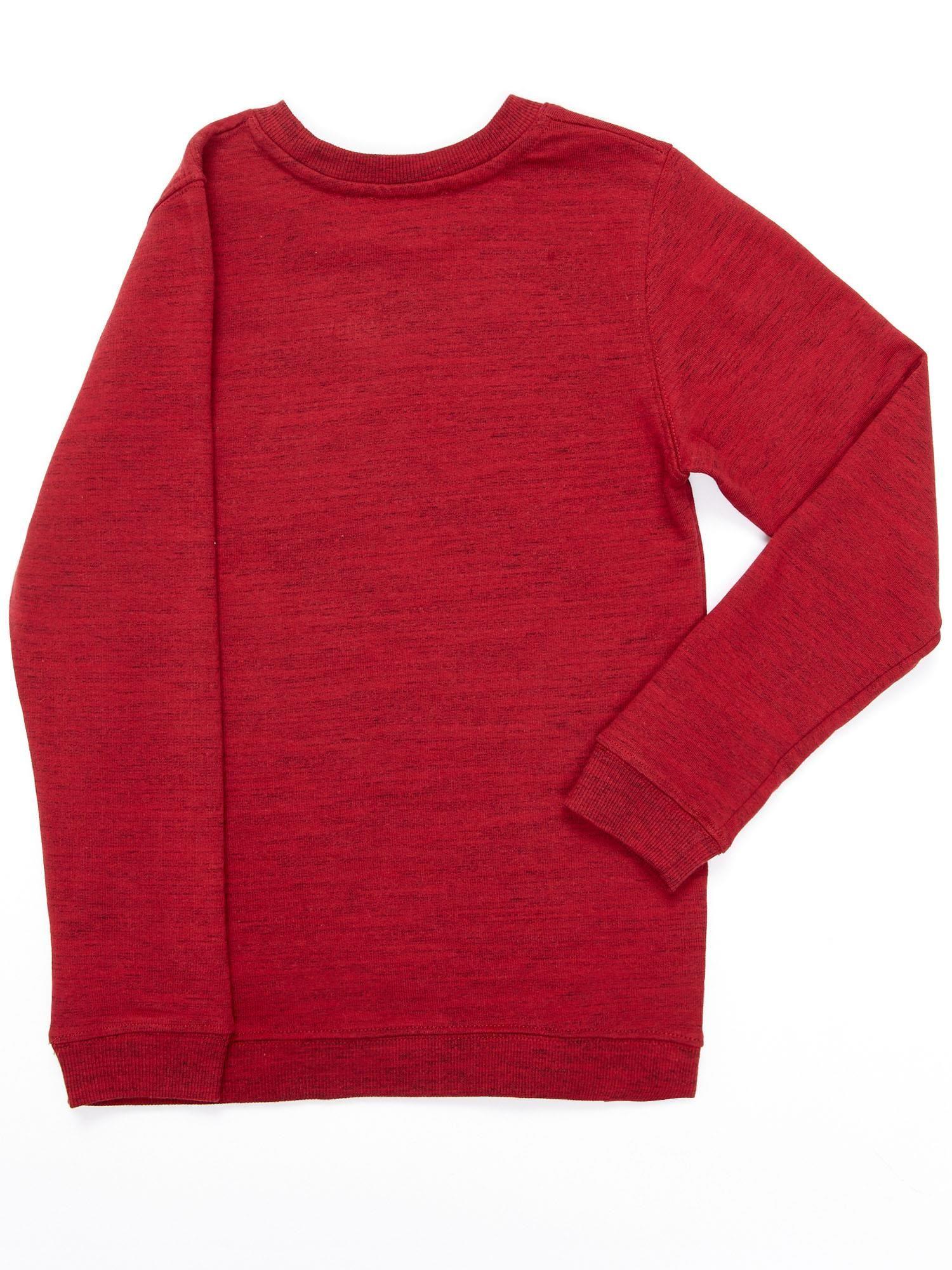 3b36bf5938 Bordowa bluza dla dziewczynki z nadrukiem gwiazdy - Dziecko Dziewczynka -  sklep eButik.pl