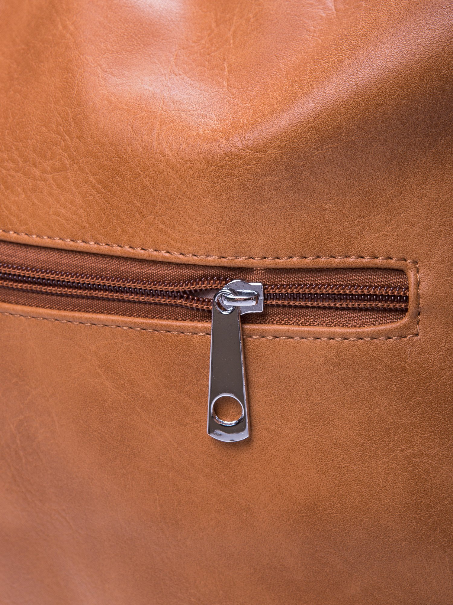 Brązowa torebka hobo na ramię                                  zdj.                                  5