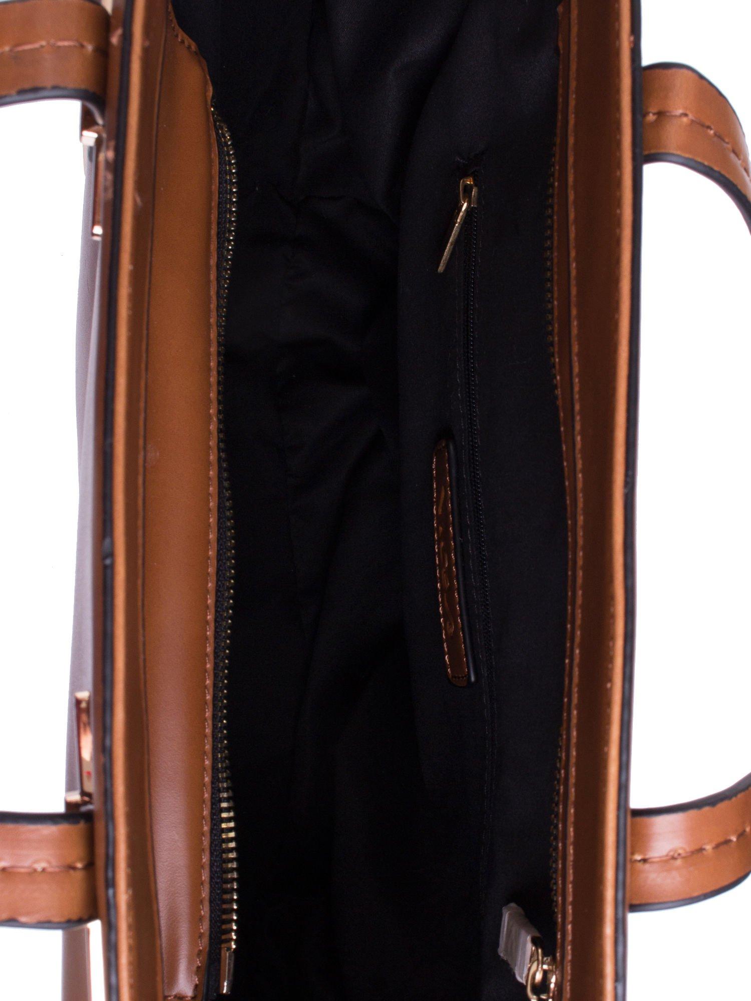 Camelowa torba z doczepianą saszetką                                  zdj.                                  4