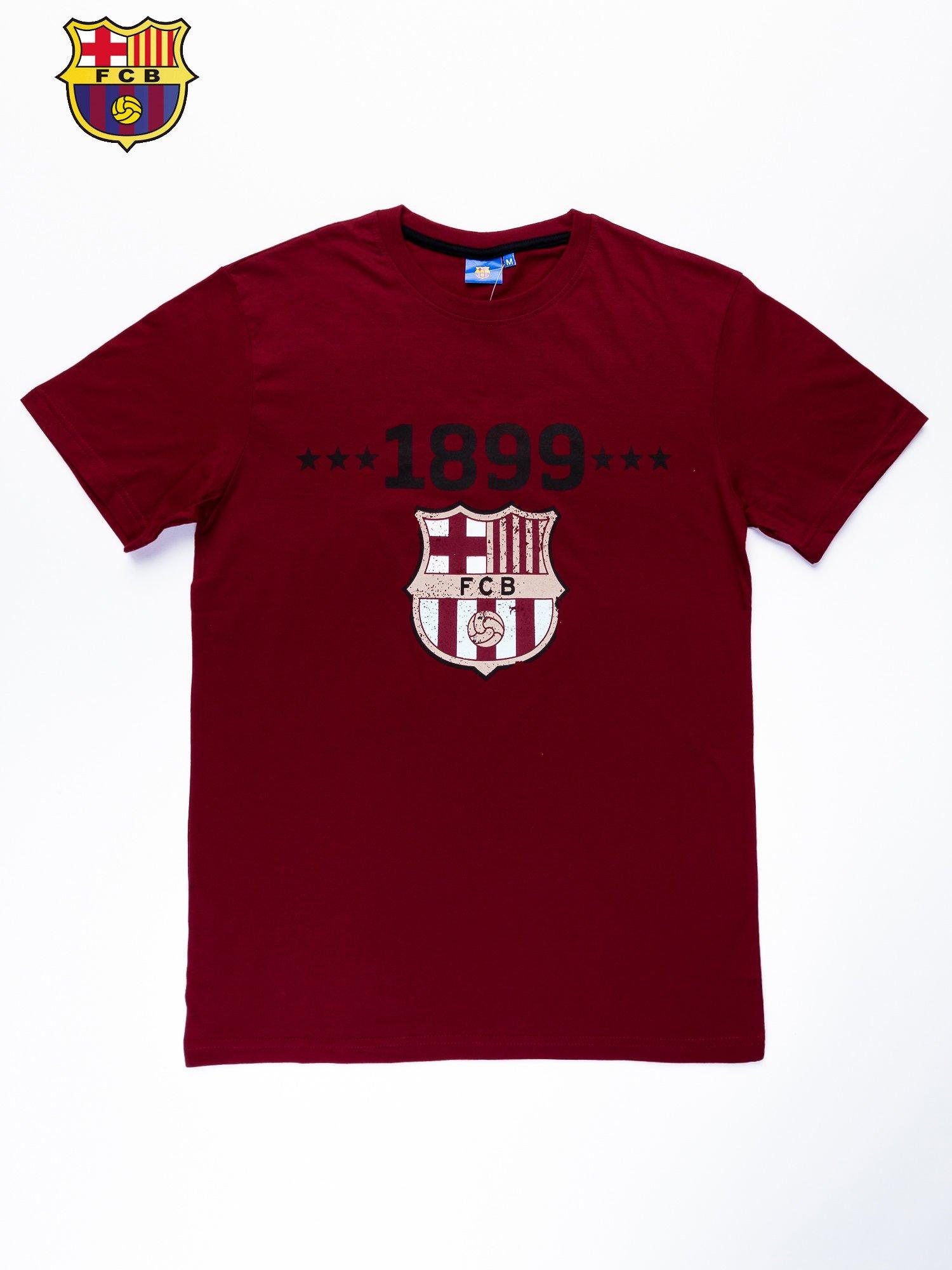 Ciemnoczerwony t-shirt męski FC BARCELONA                                   zdj.                                  10